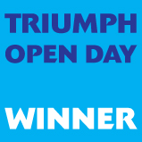 Triumph Open Day Winner